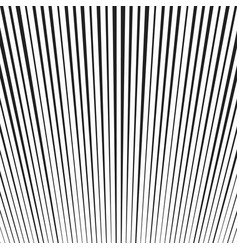 Background with black and white lines vector