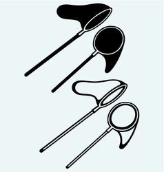 Fishing net vector image