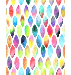 Seamless pattern of paint splash watercolor drops vector image