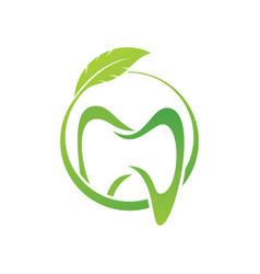 dental clinic creative company logo vector image