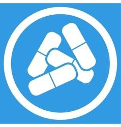 Drugs icon vector image vector image