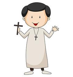 Priest vector image vector image