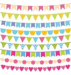 birthday party decoration vector image