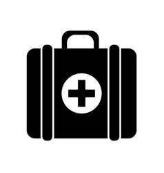 contour first aid kit medications tools vector image vector image