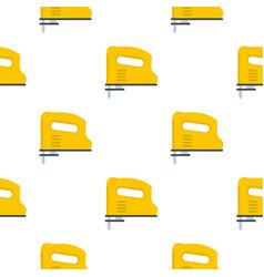 yellow pneumatic gun pattern flat vector image vector image