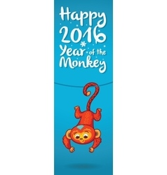 New year vertical banners with cute cartoon vector