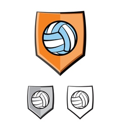 Volleyball icon vector