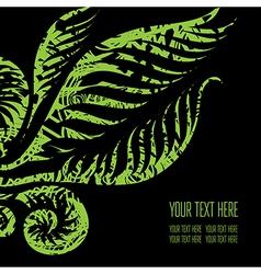 Back black 11 07 vector image
