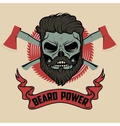 Beard power vector