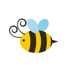 bee icon image vector image