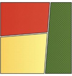 Cartoon comic 6 vector image vector image
