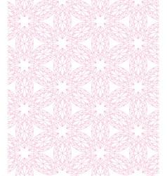Diamond mark seamless hexagone pink vector
