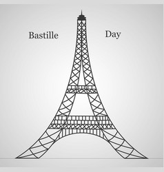 France national day bastille vector