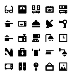 Home Appliances Icons 4 vector image vector image