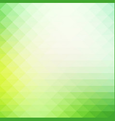 Light green shades rows of triangles background vector