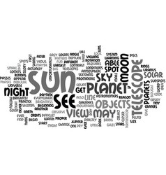 What your telescope can do text word cloud concept vector