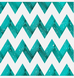 coral color zigzag seamless pattern vector image vector image
