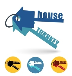 House turnkey vector