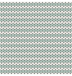 Knitted seamless pattern vector image vector image