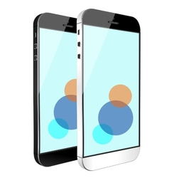 smart phone tablet vector image
