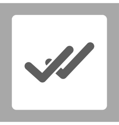 Validation icon vector