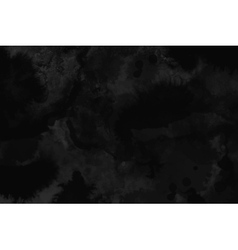 Watercolor black and dark gray texture background vector