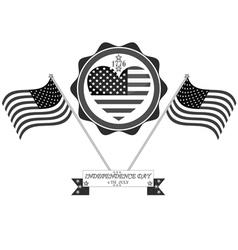 Celebration in america vector