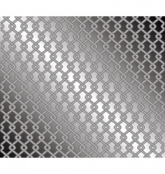 Steel mesh fence vector