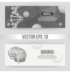 Abstract creative concept background of the vector
