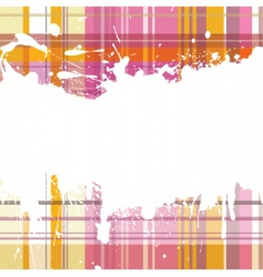 checked back with blots vector image vector image