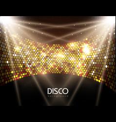 disco abstract background disco ball texture vector image vector image
