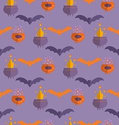 Halloween pattern19 vector image vector image