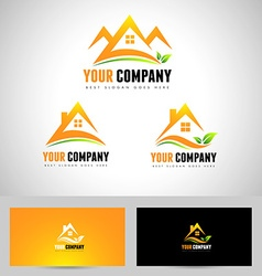 House logo concept design vector