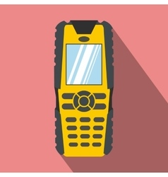 Mobile phone flat icon vector