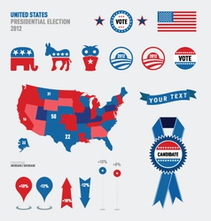 election graphics vector image