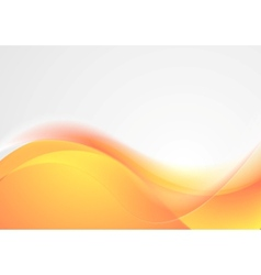 Bright wavy abstract background vector image vector image