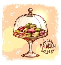 Candy jar sketch vector