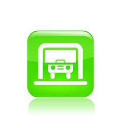 Car box icon vector