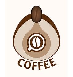 Coffee design vector image vector image