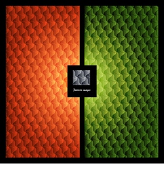 Pattern wallpaper element vector image