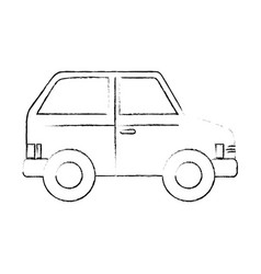 Isolated vehicle car vector