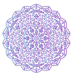 Abstract ornament mandala vector