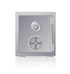 Metal safe vector image vector image
