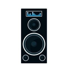 Speaker music sound dj icon graphic vector