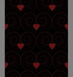 Fractal-spiral seamless pattern vector
