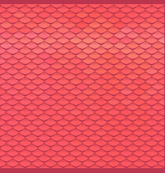Abstract scale pattern roof tiles background vector