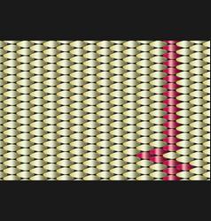 Golden copper metallic geometric pattern vector