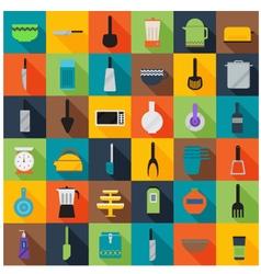 Kitchen accessories set 001 vector