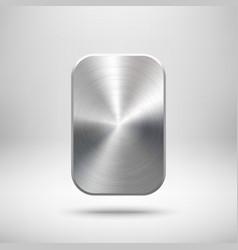 Abstract rectangle button template vector