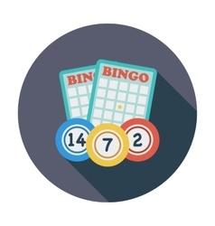 Bingo icon vector